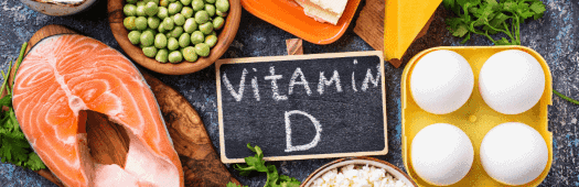 healthy food rich in vitamin D