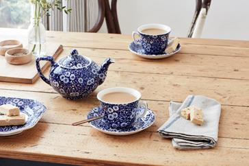 When Staying Home is the New Going Out (via Burleigh Pottery)