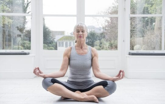 Yoga improves mental and physical health in the over 60s  (woman & home)